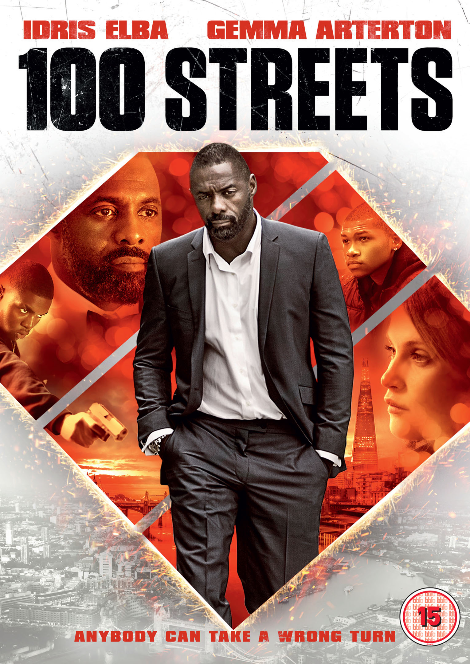Watch free 100 Streets (2016)